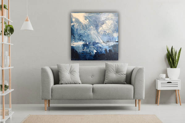 great bright light Abstract by Cassandra Gaisford